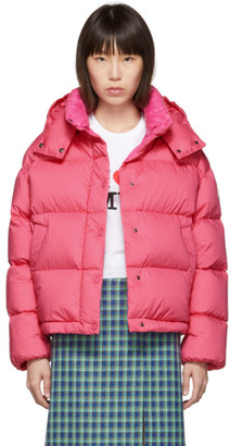 Moncler Pink Down Onis Jacket