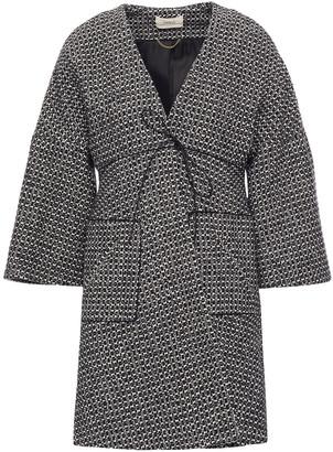 BA&SH Cotton-blend Tweed Coat