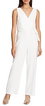 1 STATE Soft Twill Faux-Wrap Jumpsuit