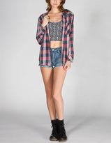 Roxy Foggy Shore Womens Hooded Shirt