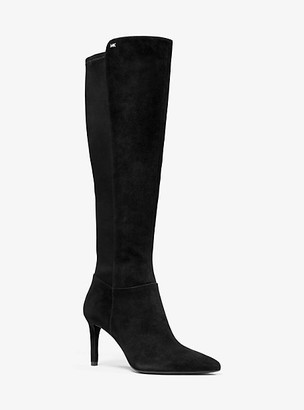 Michael Kors Dorothy Flex Stretch Suede Boot