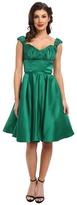 Unique Vintage Off Shoulder Jane Dress
