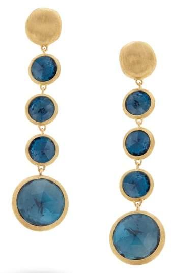 Marco Bicego 'Jaipur' Semiprecious Stone Linear Earrings