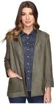 Olive + Oak Olive & Oak Rayon Twill Woven Jacket