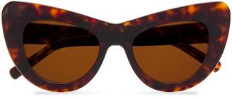 Andy Wolf Jan Cat-eye Tortoiseshell Acetate Sunglasses