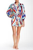 Josie Mosaic Print Happi Robe