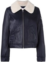 See by Chloe shearling collar aviator jacket