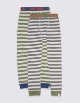 Marks and Spencer 2 Pack Pyjama Bottoms (7-16 Years)