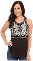 Scully Honey Creek Electra Embroidered Tank Top