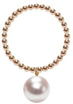 Ora Pearls Gold Orb Ring White Pearl