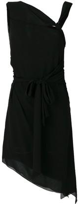 Saint Laurent Asymmetric Knot Dress
