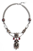 Alexander McQueen Women's Skeleton Frontal Necklace