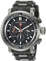Swiss Legend Men's 'Dragonet' Swiss Quartz Stainless Steel Casual Watch (Model: 13838SM-GM-01-OA)