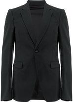 Rick Owens one button blazer - men - Cotton/Spandex/Elastane/Cupro/Virgin Wool - 48