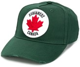 DSQUARED2 maple leaf patch cap