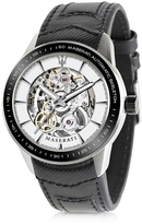 Maserati Corsa Stainless Steel Automatic Skeleton Men's Watch