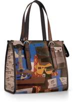 Icon Eyewear Linda Mid-sized Tote With Adjustable Straps.
