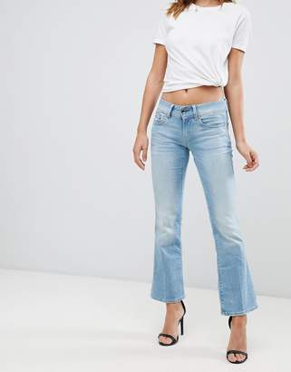 G Star G-Star Midge Saddle flared jeans-Blue
