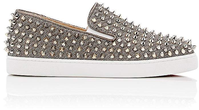 Christian Louboutin Women's Roller-Boat Slip-On Sneakers
