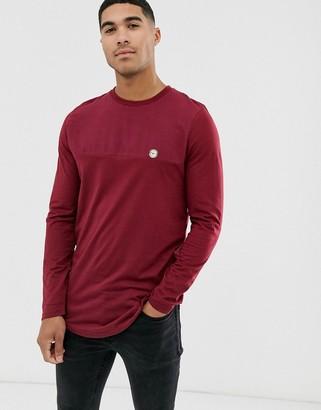 Le Breve half tone long sleeve t-shirt