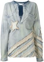 Faith Connexion oversized denim blouse