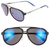 Carrera Eyewear 58mm Aviator Sunglasses
