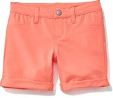 Old Navy French-Terry Midi Shorts for Girls