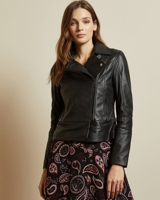 Ted Baker MANDYY Leather biker jacket