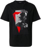Neil Barrett Martin Luther King Jr & Lincoln graphic print T-shirt