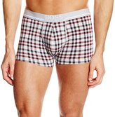 HUGO BOSS Men's Boxer Brief 24 Print Underwear in Checker