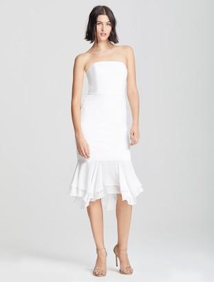 Halston Crepe Knit Dress