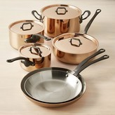 Williams-Sonoma Williams Sonoma Mauviel M250C Copper 10-Piece Cookware Set