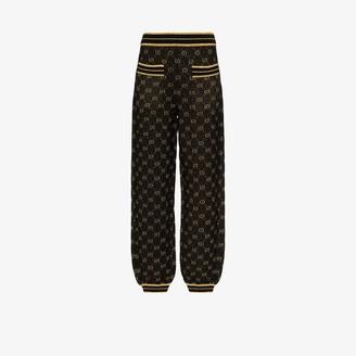 Gucci GG metallic track pants