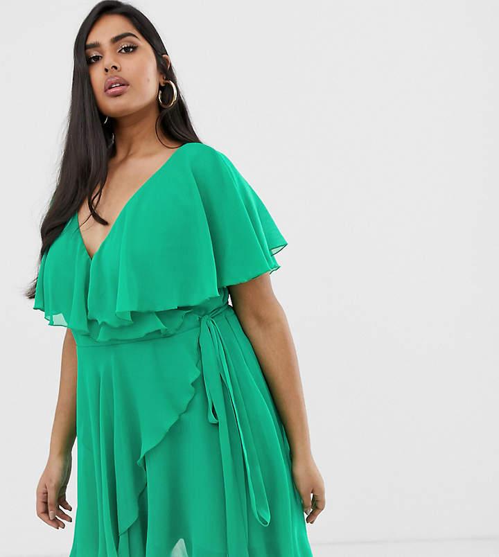 c53724c0e5 Plus Size Dip Hem Dress - ShopStyle