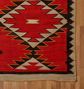 Rejuvenation Red Mesa Navajo Pound Rug in w/ Yellow Highlights