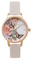 Olivia Burton **Enchanted Garden Blush Watch