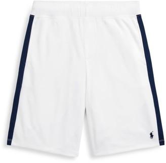 Ralph Lauren Boy's Side Stripe Basketball Shorts
