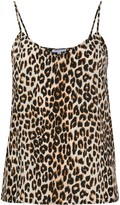 Equipment leopard-print camisole