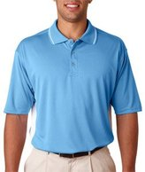 ULTRACLUB 8406 UltraClub Adult Cool & Dry Sport Two-Tone Polo 8406
