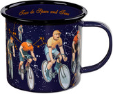 Ted Baker Mens Interstellar Bikes Enamel Mug