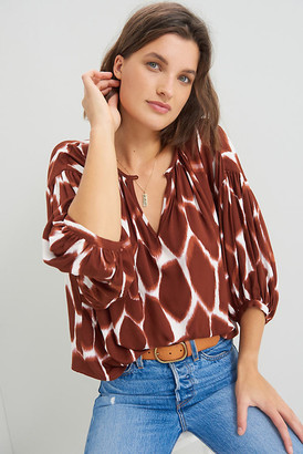 Corey Lynn Calter Adventurer Relaxed Blouse By in Assorted Size S