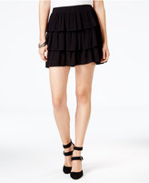 chelsea sky Tiered Gauze Skirt, Only at Macy's