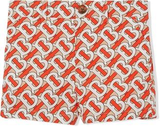 Burberry monogram print shorts