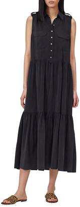 Equipment Allix Sleeveless Tiered Maxi Dress