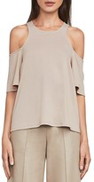BCBGMAXAZRIA Kelsey Cold-Shoulder Top