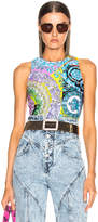 Versace Print Bodysuit in Technicolor Baroque | FWRD