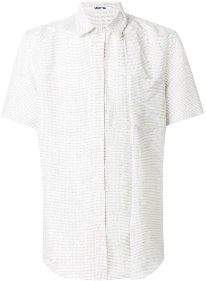 Chalayan oversized shirt