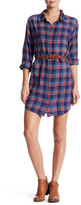 Splendid Plaid Shirt Dress