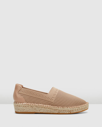 Hush Puppies Women's Neutrals Espadrilles - Baha - Size One Size, 5 at The Iconic