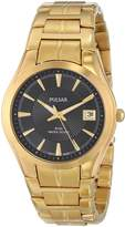 Pulsar Bracelet Collection Date Window Dial Men's watch #PXH914